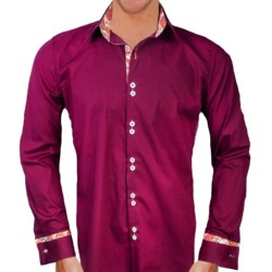 maroon-designer-dress-shirts