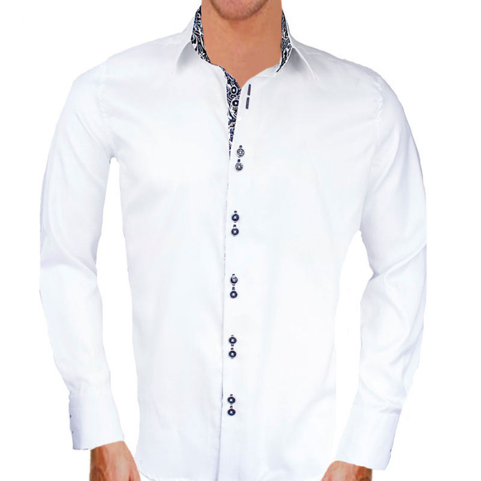 white-and-black-contrast-dress-shirts