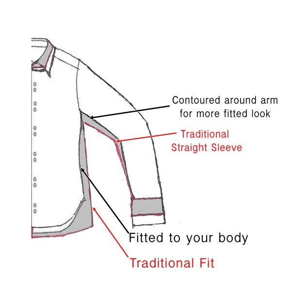 European-Fitting-Dress-Shirts