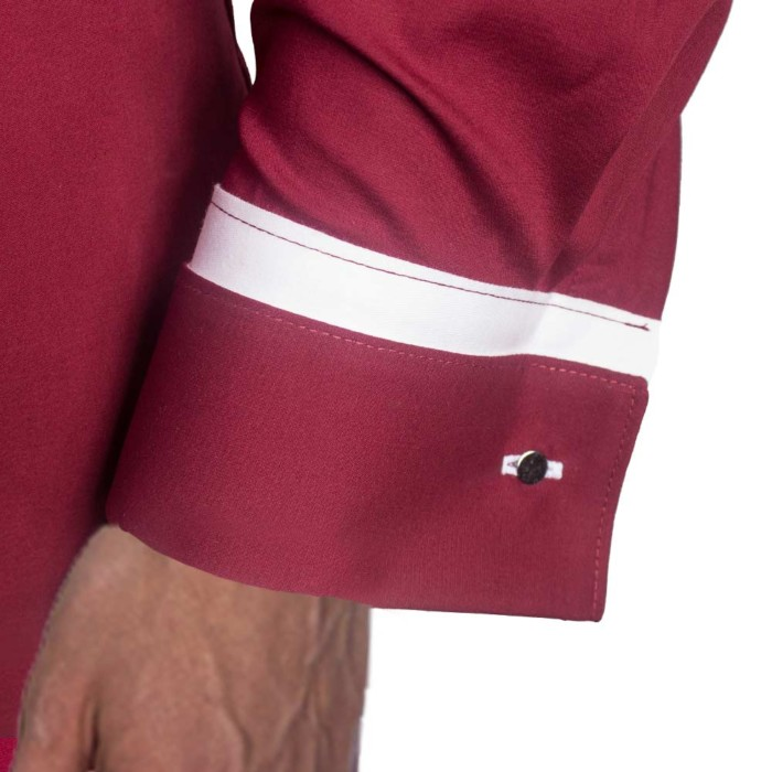 Maroon-with-White-French-Cuff-Dress-Shirts copy