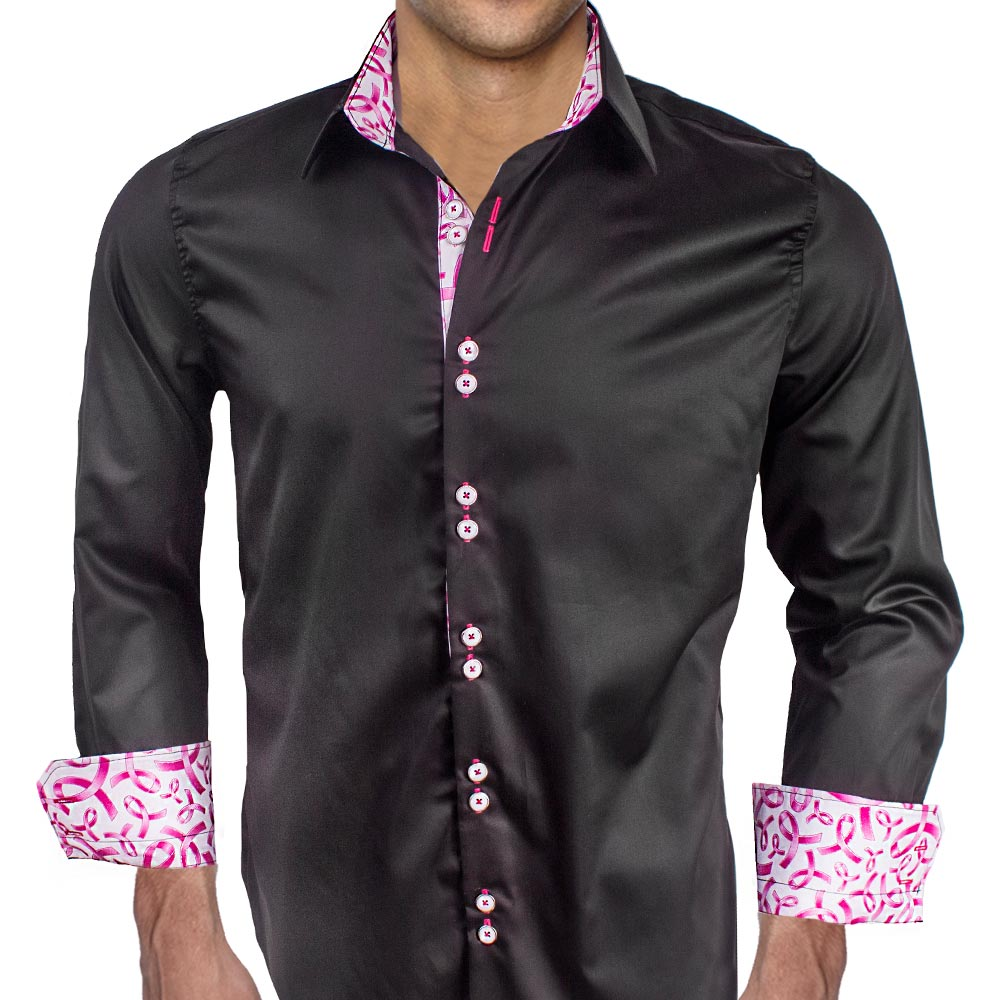 Mens-Breast-Cancer-Awareness-Dress-Shirts