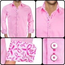 Pink-Breast-Cancer-Awareness-Dress-Shirts
