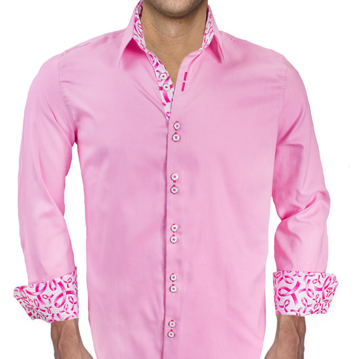 Pink-Breast-Cancer-Dress-Shirt