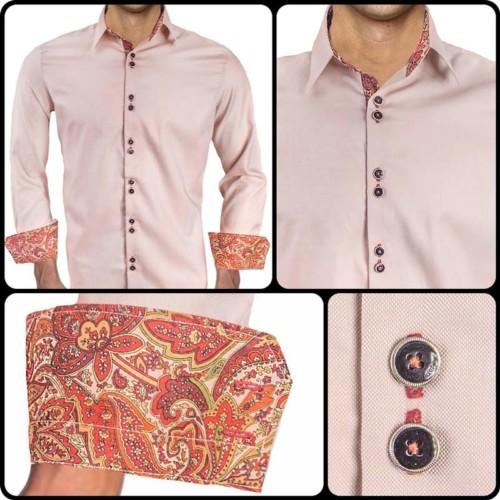 tan-with-maroon-dress-shirts