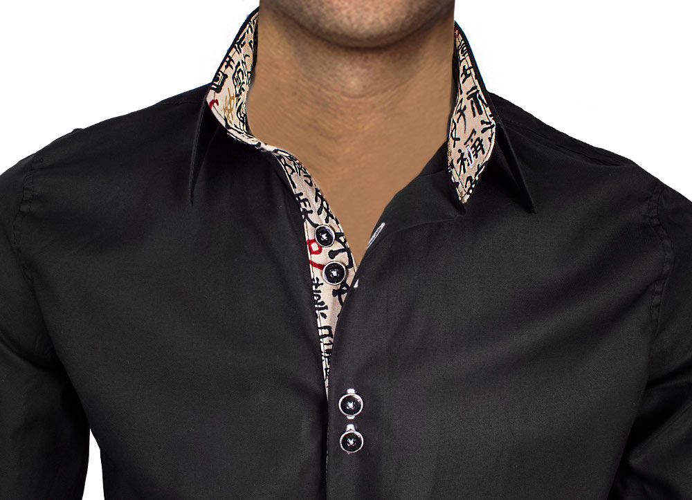 Dress-Shirt-with-Chinese-Writing