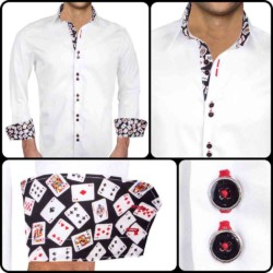 Dress-Shirts-with-Poker-Cards