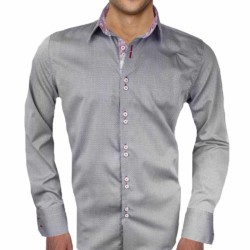 Grey-and-Red-Dress-Shirts