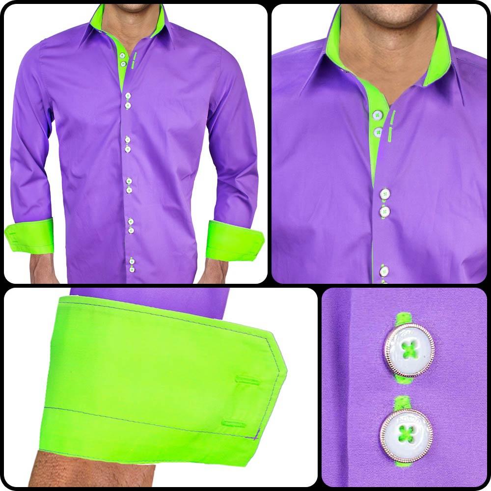 Purple-and-Neon-Green-Dress-Shirts copy 3