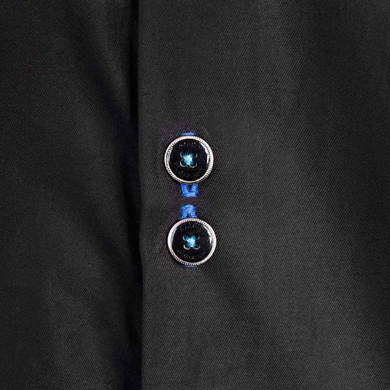 black-with-blue-dress-shirts