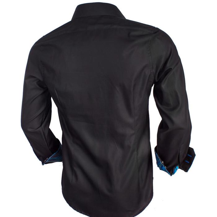 black-with-metallic-mens-shirts