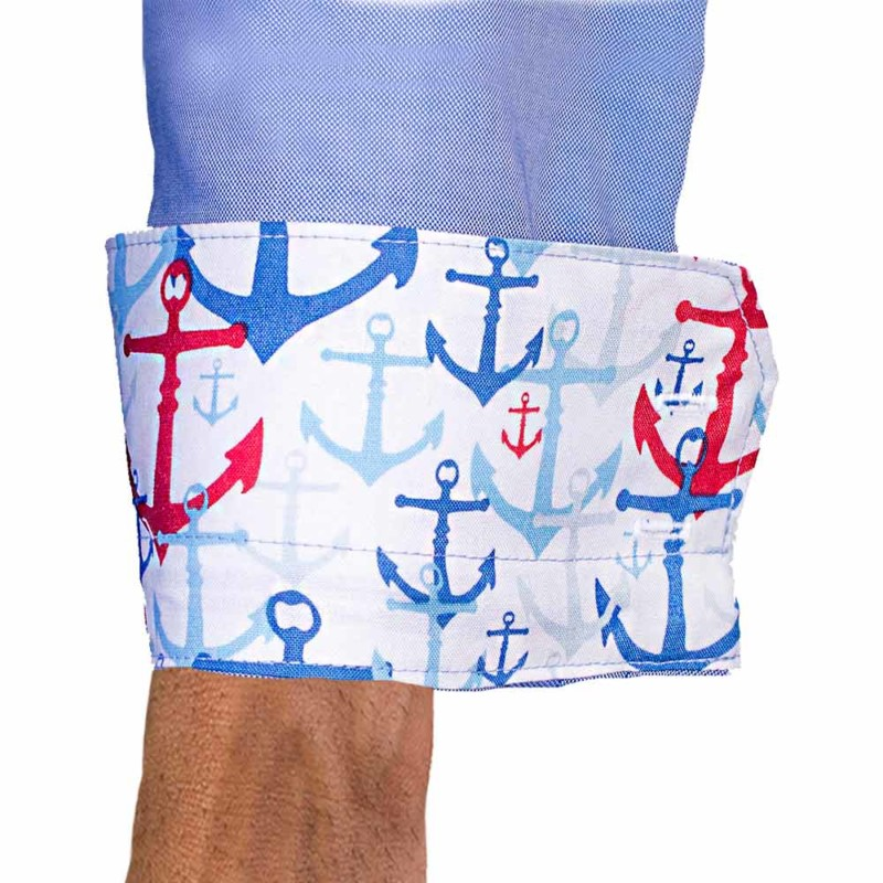Anchors-on-Dress-Shirt-Cuffs
