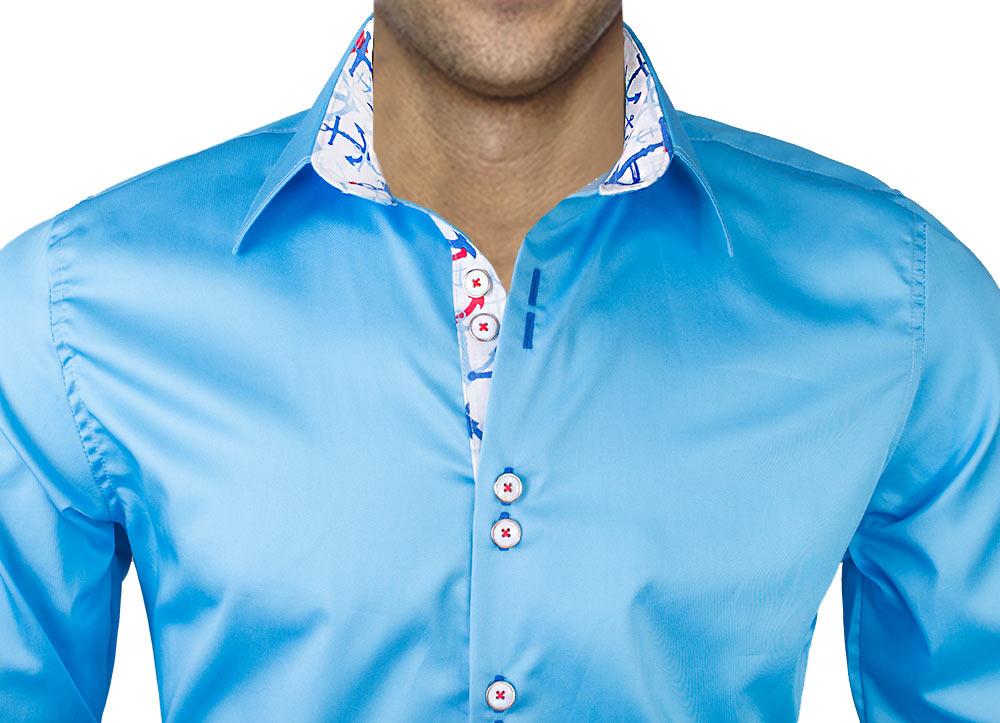 Anchors-on-Dress-Shirt