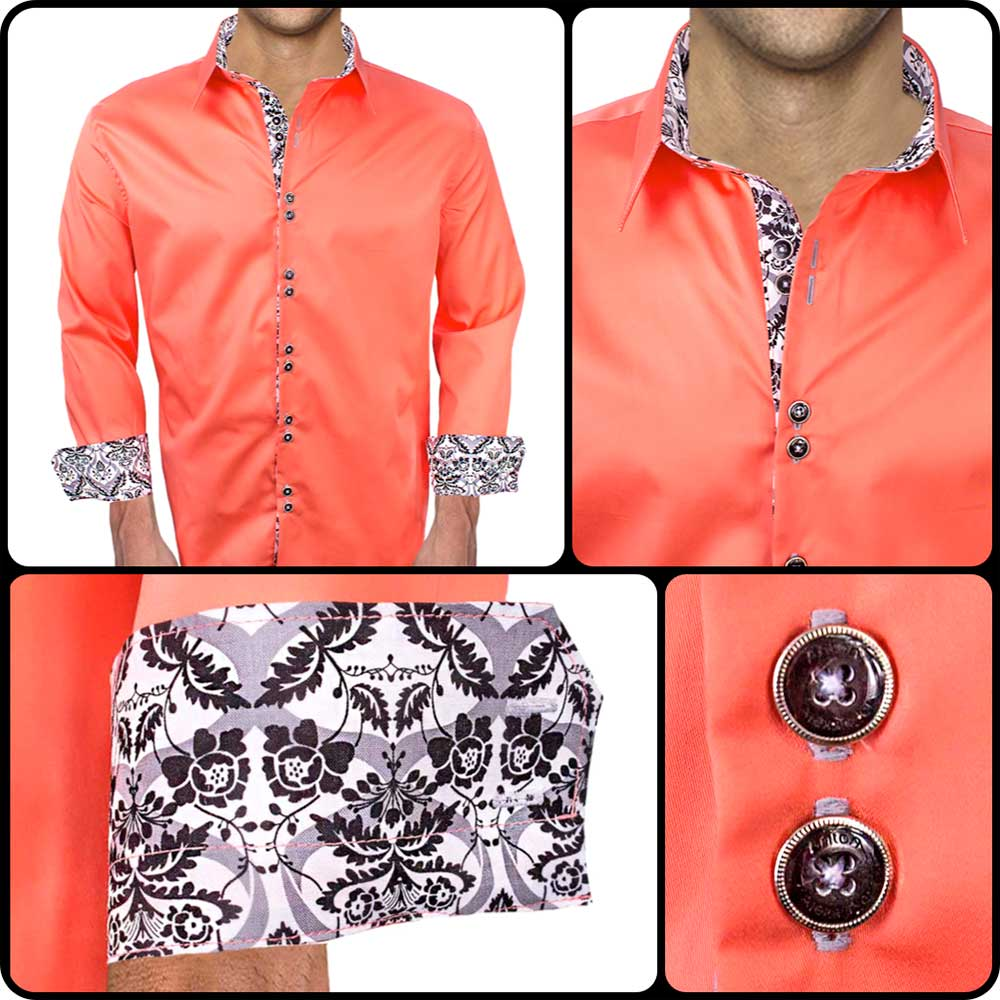 Coral-with-White-Dress-Shirts