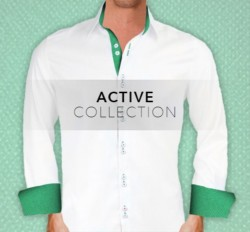 Active Collection Dress Shirts