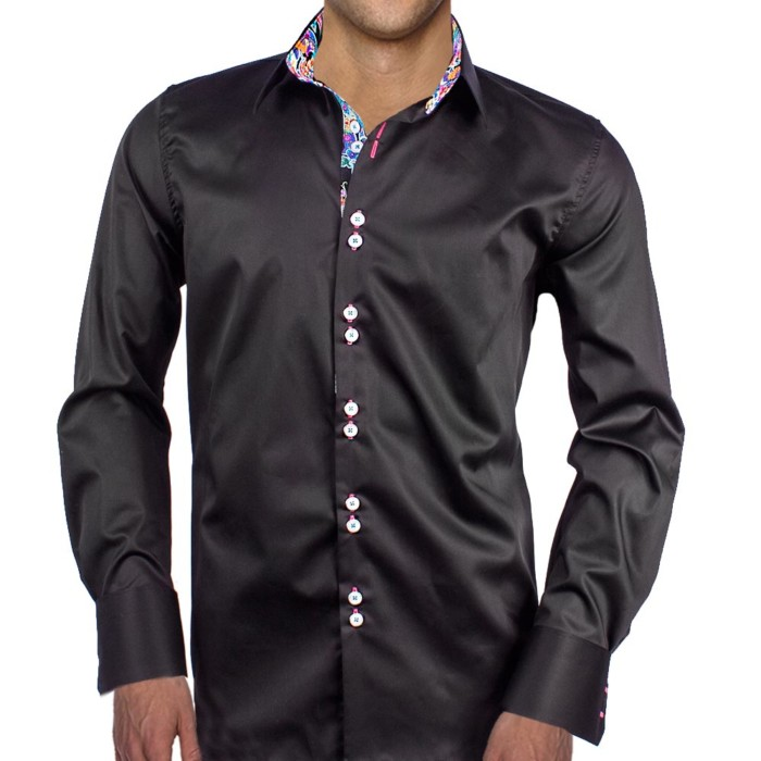 Black-Dress-Shirts-with-Bright-Accents