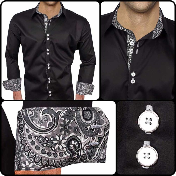 Black-dress-shirts-with-grey-accents