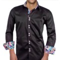 Black-with-Pink-Paisley-Dress-Shirts