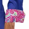 Blue-Dress-Shirt-with-Pink-Paisley-Cuff