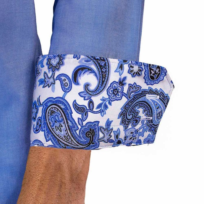 Blue-Paisley-Dress-Shirts