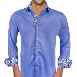 Blue-Paisley-Mens-Shirts