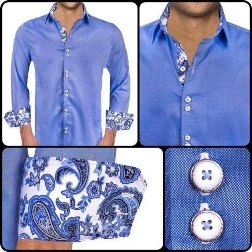 Bright-Blue-Paisley-Dress-Shirts