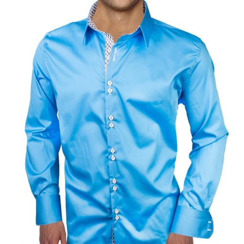 Bright-Blue-with-White-Dress-Shirts