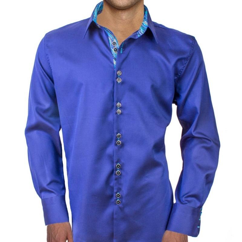 Dark-Blue-with-Light-Blue-Accent-Dress-Shirts