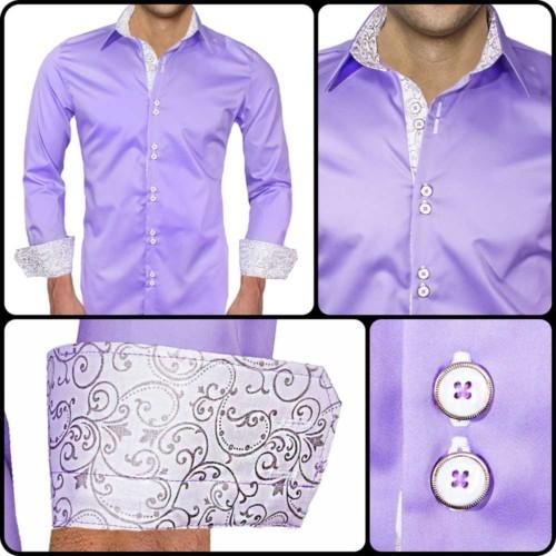 Light-Purple-Designer-Dress-Shirts