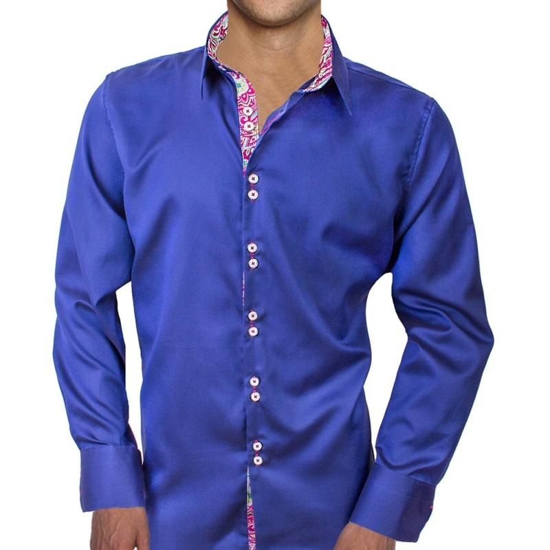 Navy-Blue-with-Pink-Dress-Shirts