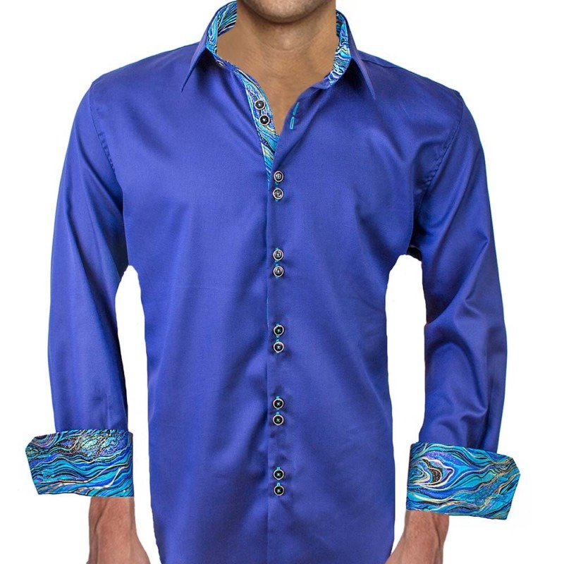 Navy-Blue-with-light-blue-accents-dress-shirts