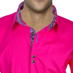bright-Pink-with-Accent-Dress-Shirts