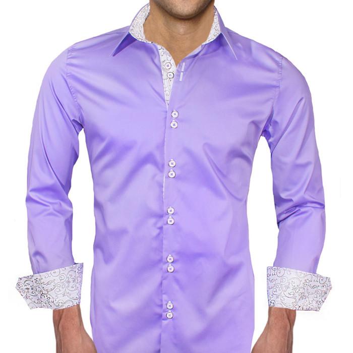 Purple-with-White-Dress-Shirts