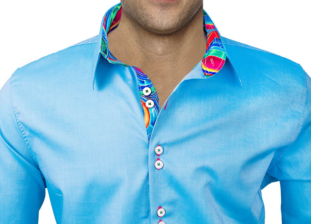 Sky-Blue-Dress-Shirts-with-Accents