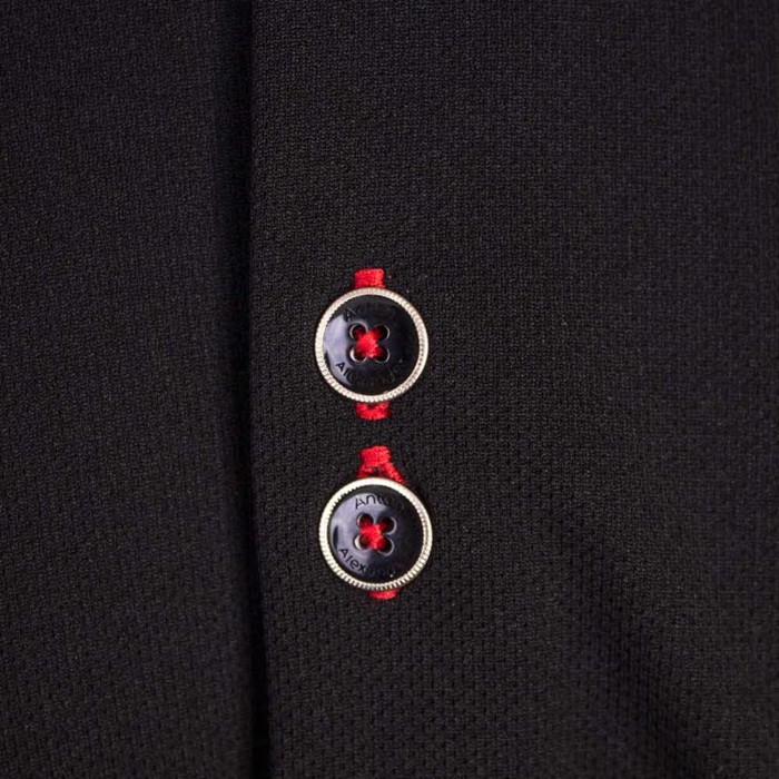 black-with-red-contrast-dress-shirts