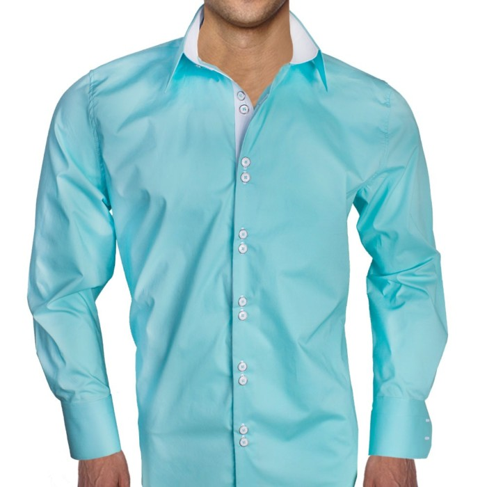 turquoise-with-white-dress-shirts