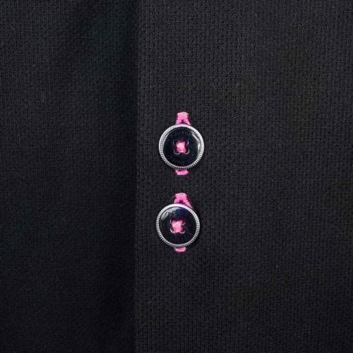 black-with-pink-dress-shirts