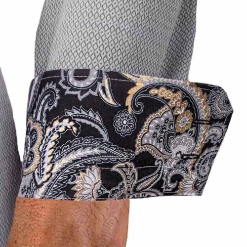 grey-dress-shirts-with-black-paisley-cuff