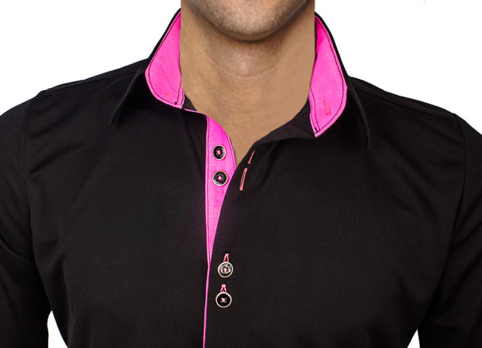 hot-pink-dress-shirts