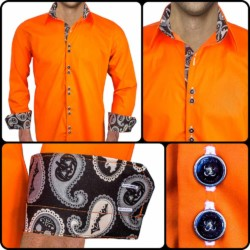 Orange-Halloween-Dress-Shirts