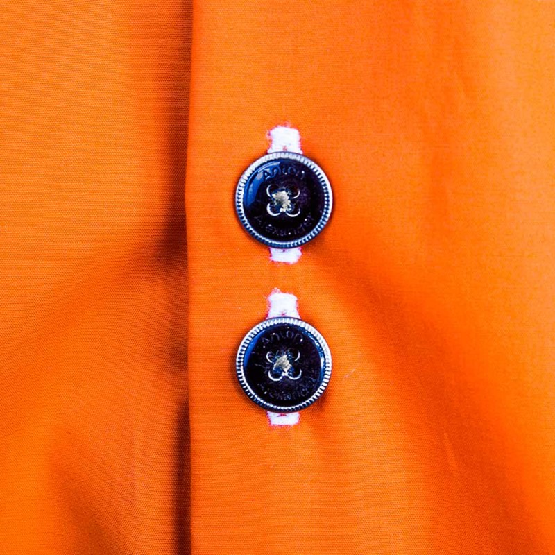 Orange-and-black-dress-shirts