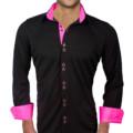 mens-black-with-pink-dress-shirts