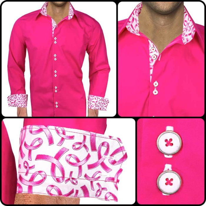 pink-ribbon-mens-shirts
