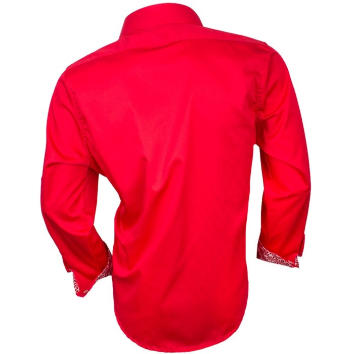 mens-red-christmas-dress-shirts