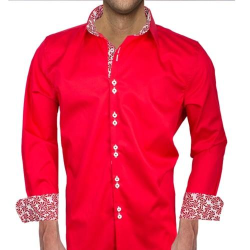 mens-red-christmas-shirt
