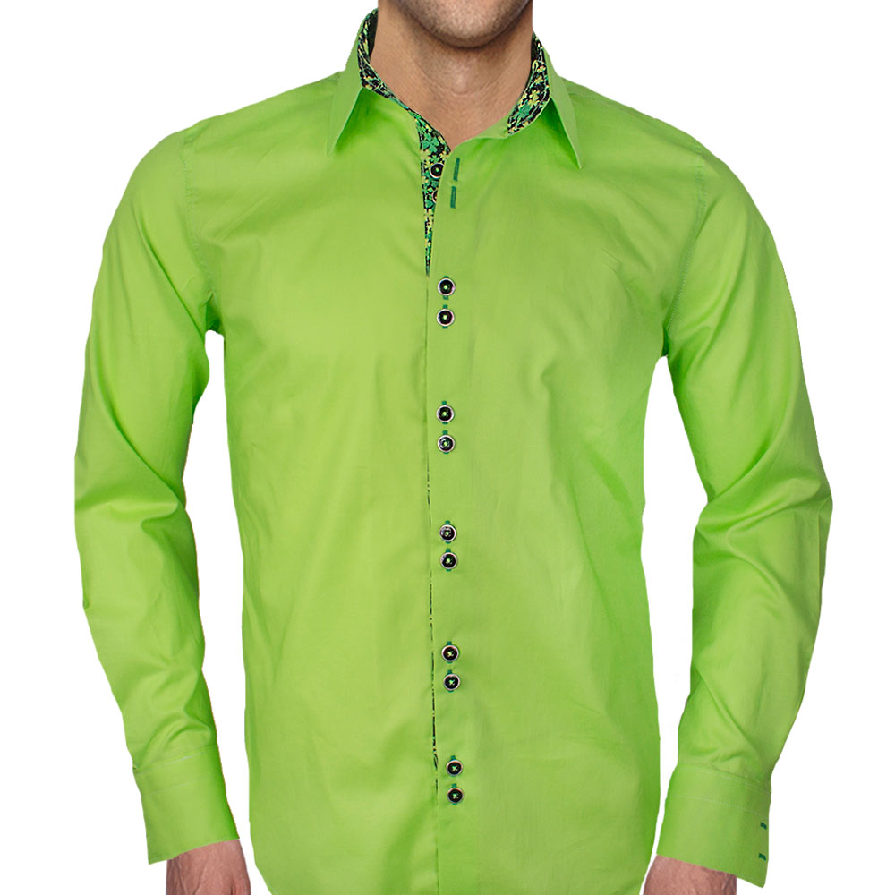 Collection of mens emerald green dress shirt best Emerald green mens dress shirt