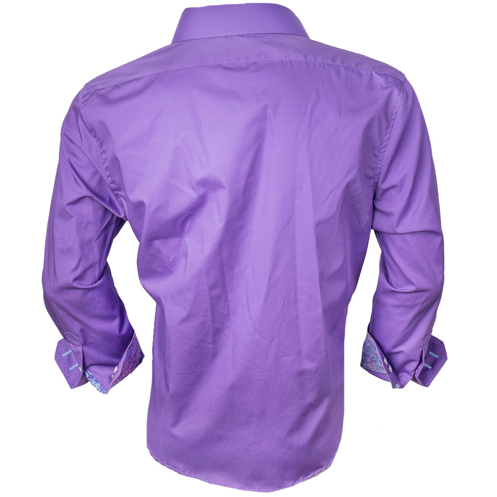 Bright Purple Dress Shirts