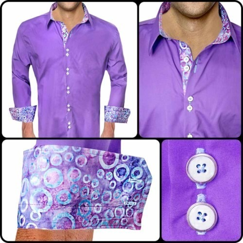 Bright-Purple-with-Blue-Dress-Shirts