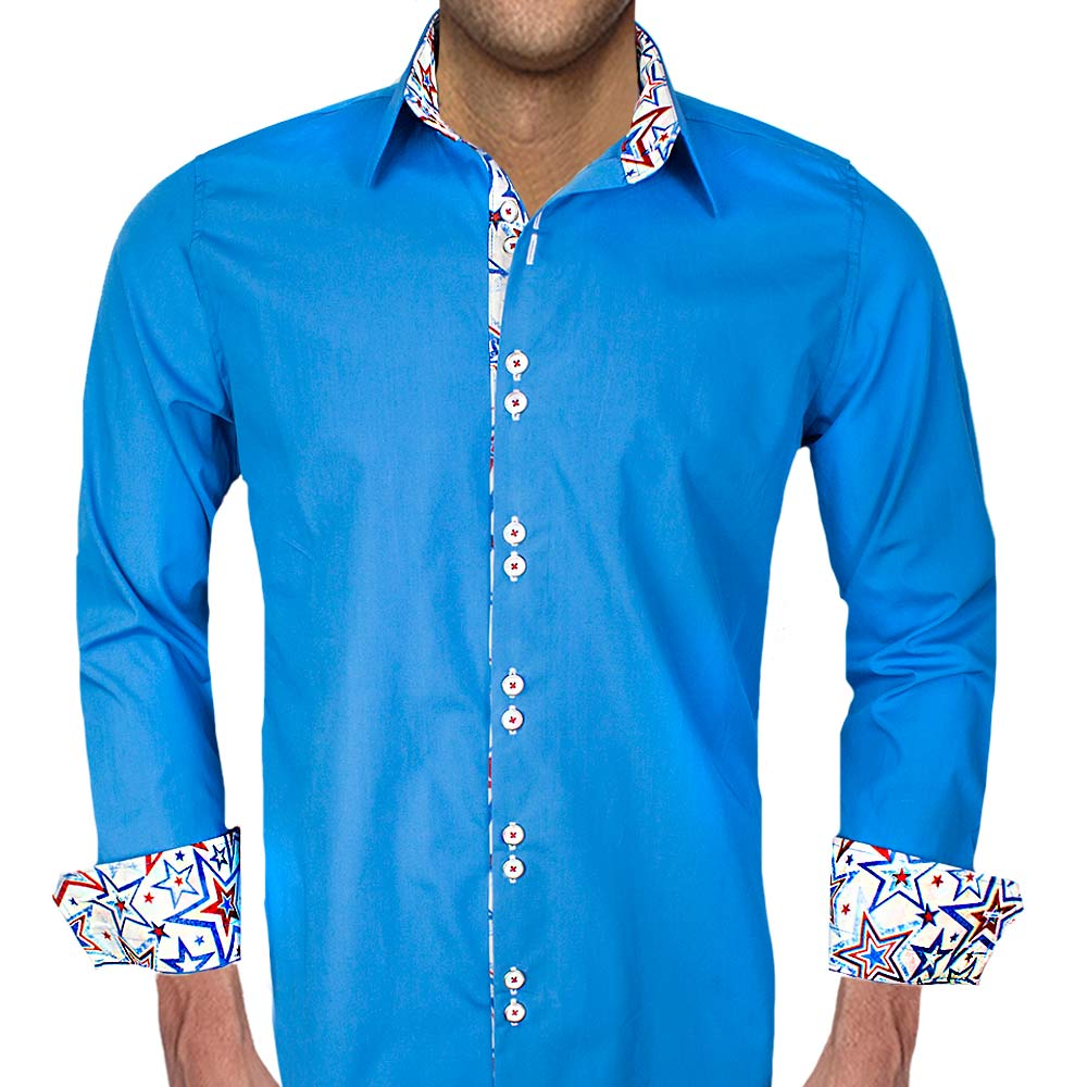 Dress-Shirt-with-Stars