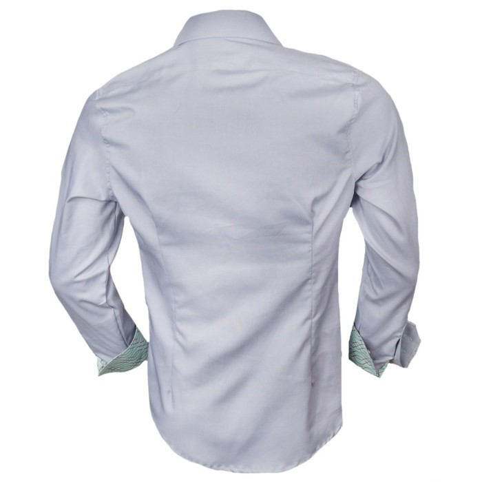 Mens-Gray-Dress-Shirts