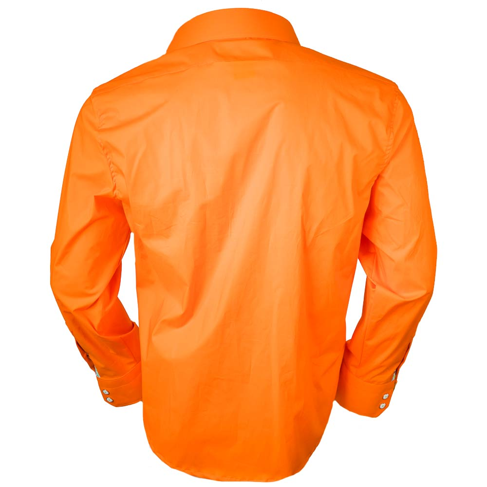 Orange-Mens-Dress-Shirts